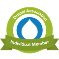 I am a proud Individual Member of the Drupal Association.